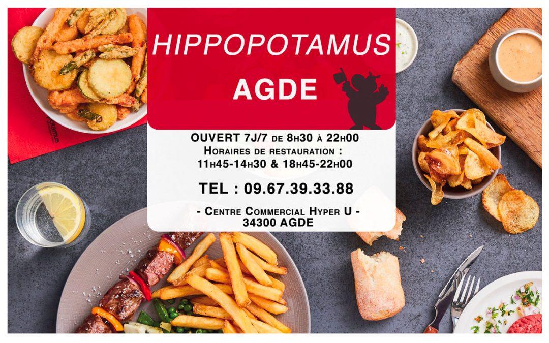 Publicité Hippopotamus pour le magazine Cap Infos
